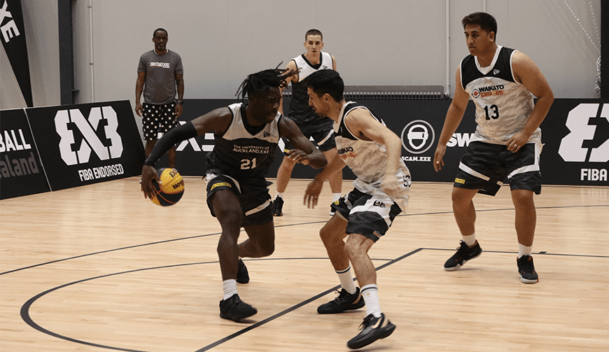 Final round of 3x3.EXE Premier League saw favourites claim finals spots | Basketball New Zealand