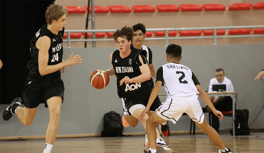 Aon Under 17 Men outclass Guam | Basketball New Zealand