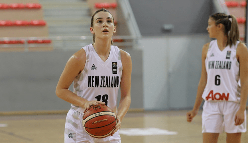 Aon Under 17 Women go down to Australia in last group stage game | Basketball New Zealand